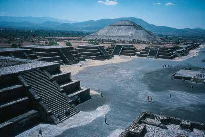 Teotihuacán was once one of the great cities of the New World. Photo TAC/ Mark Michel.