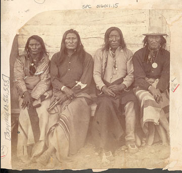 Crow at Fort Parker 1871