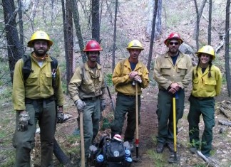 Slide Fire Firefighters Who Discovered Cabin