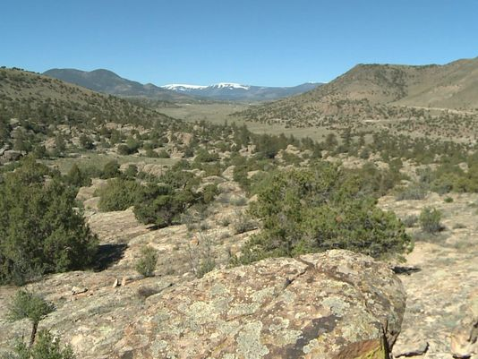 BLM site vandalized Del Norte CO