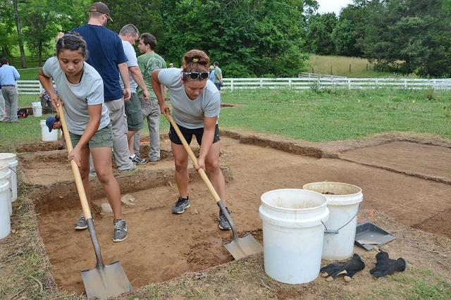 MTSU Archaeology Field School June 2014