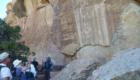 Visiting Amazing Petroglyphs along the Yampa River Trip 2014.