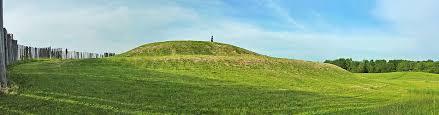 Aztalan State Park, Platform mound