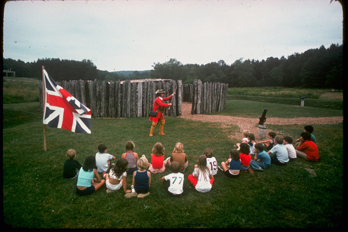 Fort Necessity National Battlefield. Photo from National Park Service Digital Image Archives