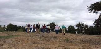 Potter mound tour visit