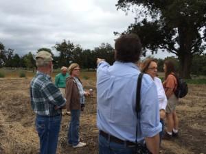 Tour visits Potter Mound