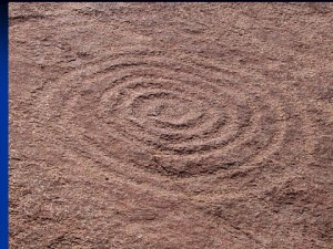 Archaic Petroglyph