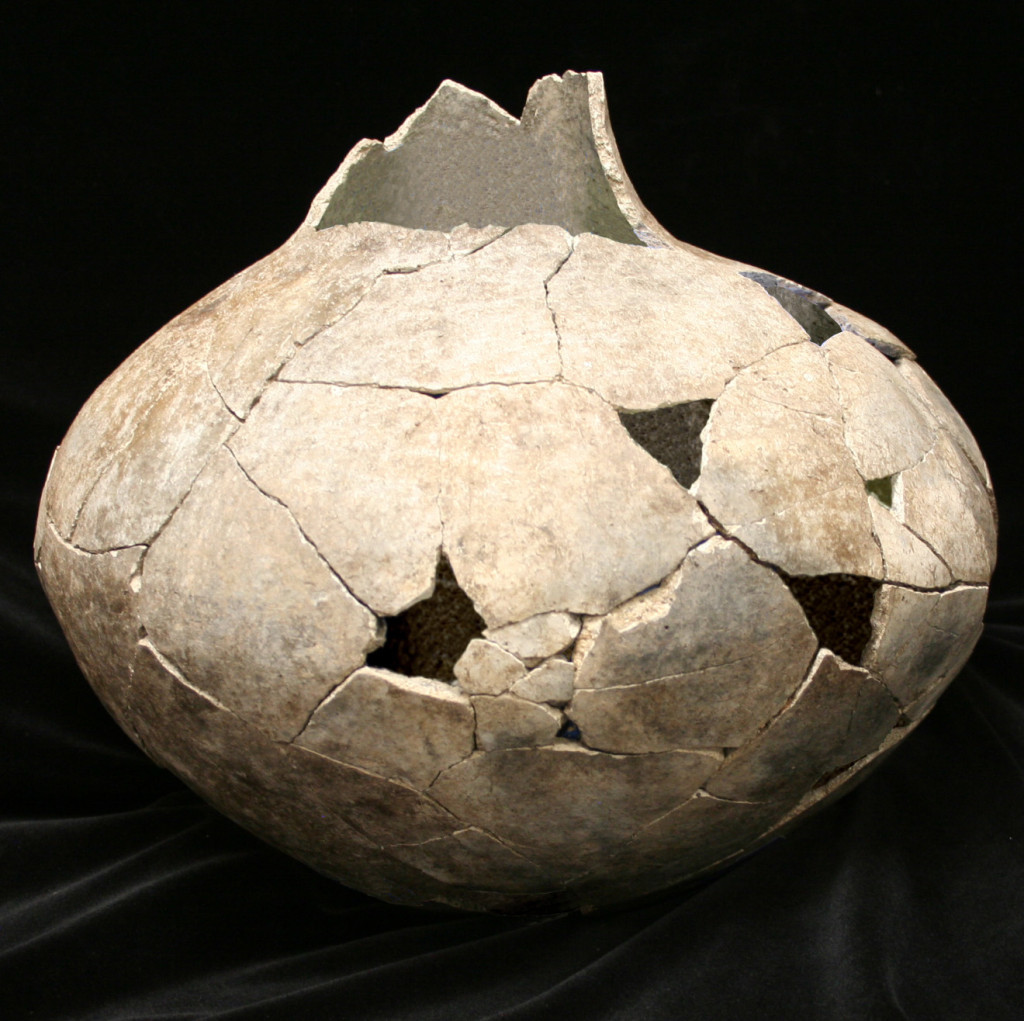 Nearly complete reconstructed vessel from the Dillard Site. Courtesy Crow Canyon Archaeological Center.