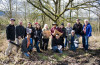 Group visit to Biderbost Preserve