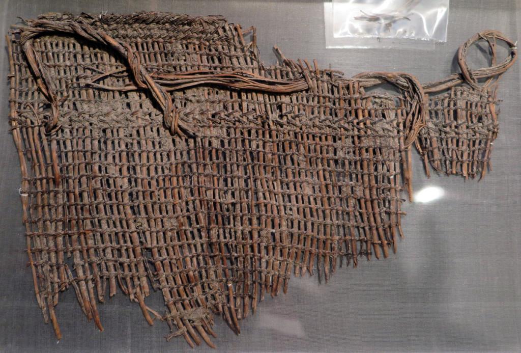 Original Basket Fragment from Biderbost site now housed at Burke Museum