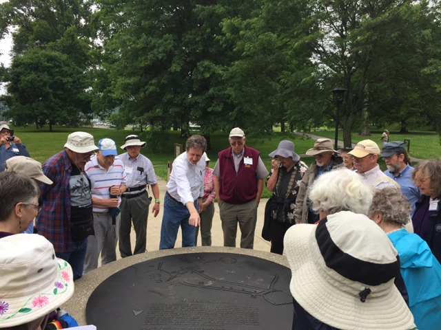 Newark Earthworks, in Ohio, boasts the largest earthen enclosures in the world and we concluded the tour with a trip to the Great Circle and the Octagon Earthworks