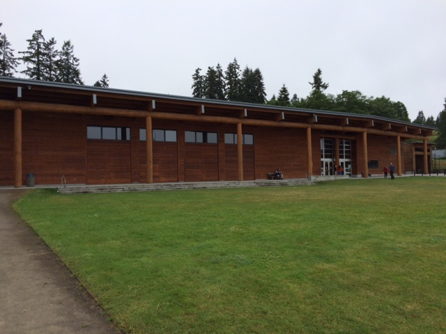 Suquamish Tribe's long house, called The House of Awakened Culture