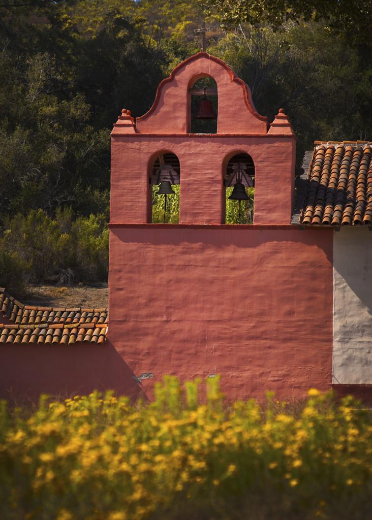 The bell wall at La Purisima Concepción. Credit: Ruben G. Mendoza