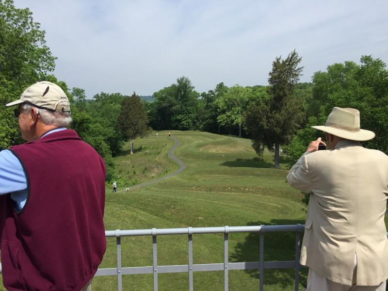 Serpent Mound Tower View