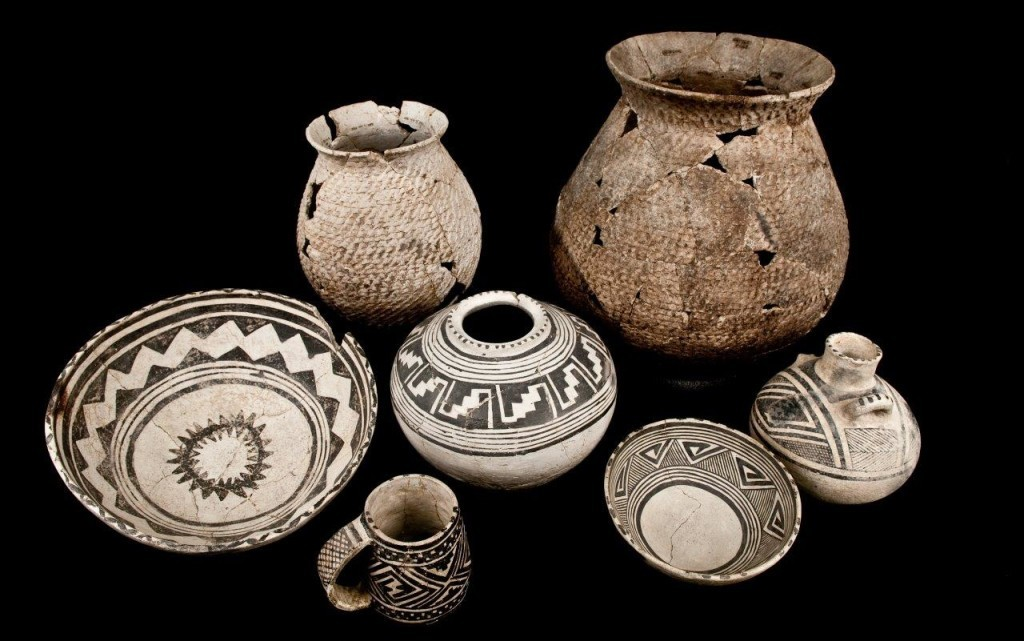 These pottery vessels made in the VEP's north study area during the A.D. 1200s, the final century that the region was occupied
