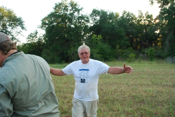Doc at another field school. Credit Hamilton Bryant