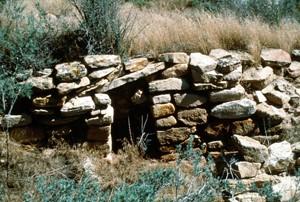 1986 photo Mud Springs Pueblo