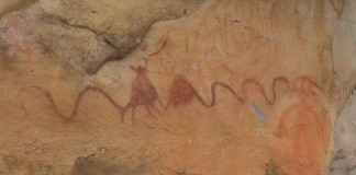 Amazing Rock Art at Painted Bluff