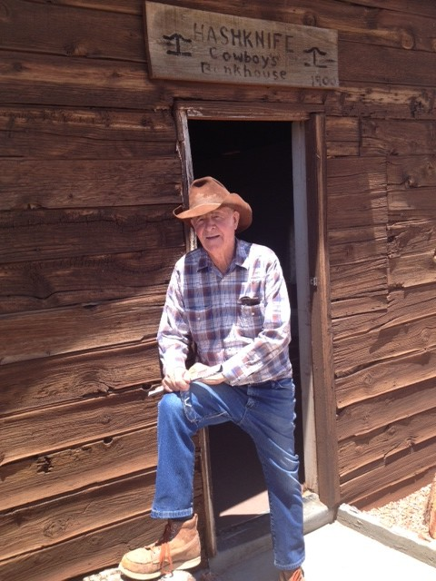 Brantley Baird, owner of Rock Art Ranch, who granted permission to ASM to conduct research on his ranch. Credit: Tamara Stewart