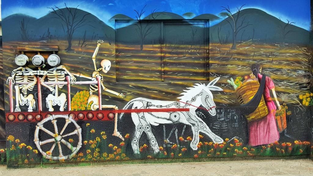 Mural Art, Zaachila