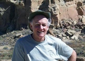 Dr. Jim Judge at Chaco Canyon.