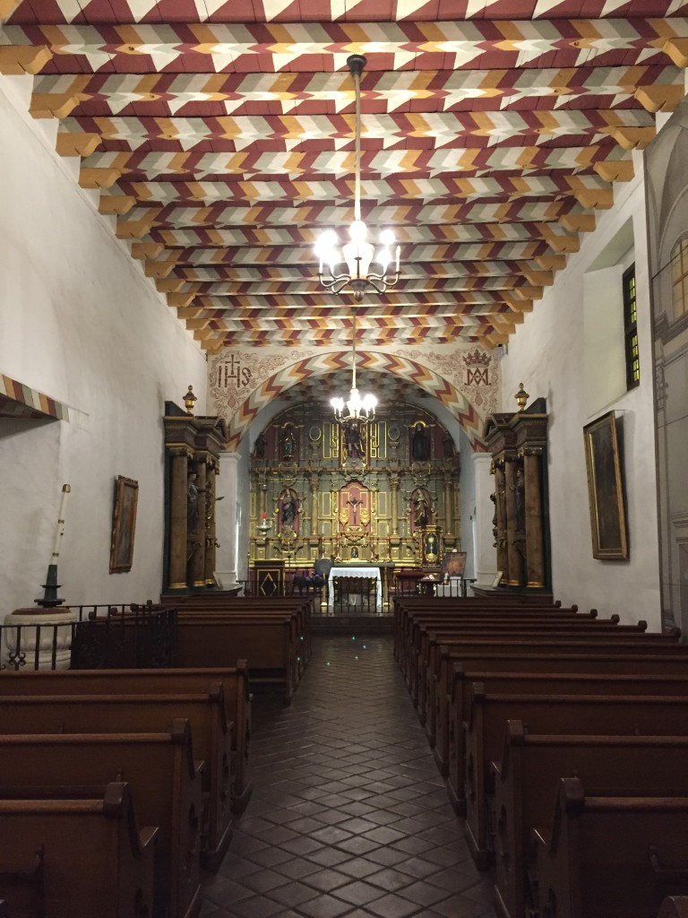 Photo 3: Inside Mission San Francisco de Asis, California.