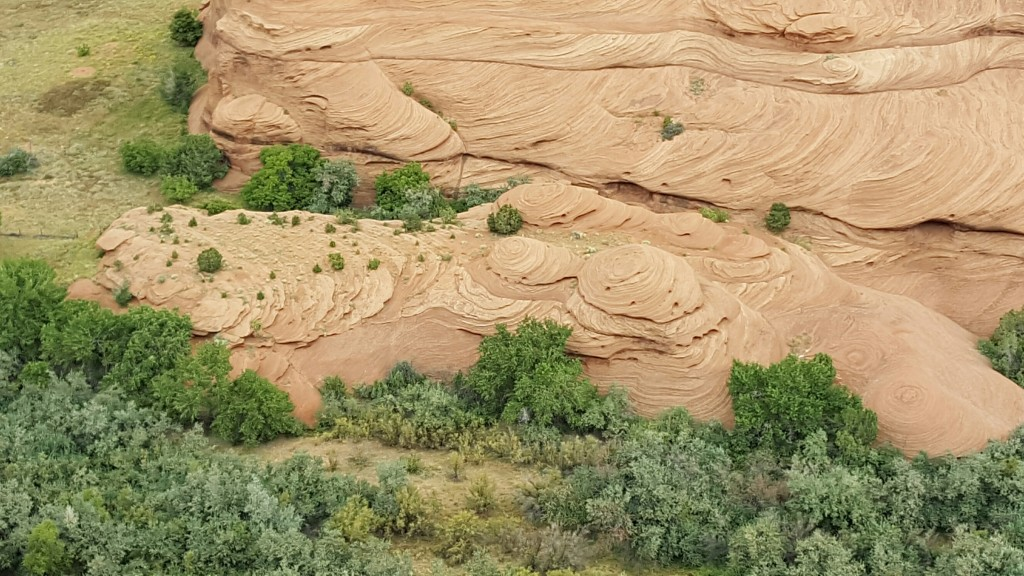 Sandstone Formations, Canyon de Chelly National Monument. The Archaeological Conservancy Tour 2015.