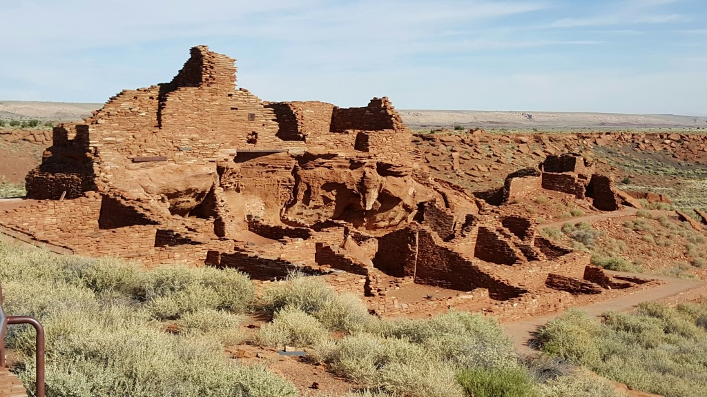 Wupatki Pueblo. The Archaeological Conservancy Tour 2015.