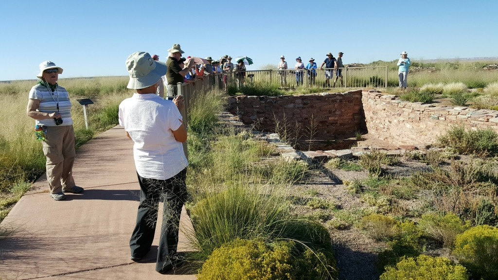 Homolovi Ruins State Park. The Archaeological Conservancy Tour 2015.