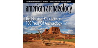 American Archaeology 2016 Spring cover