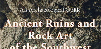 Book Cover: Ancient Ruins and Rock Art of the Southwest by David Noble. Book Cover.