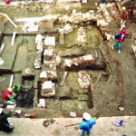 Excavation of Paddy's Alley, Boston. courtesy of the Massachusetts Historical Commission