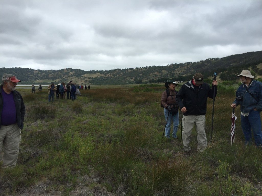 Tour participants at the Borax Lake Preserve. Photo The Archaeological Conservancy.
