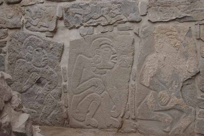 Carved Stone Slab : A tale of two cities religion in ancient mexico