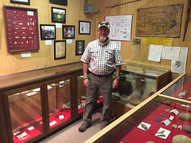 Wayne Hardee at the Historic Museum and Indian Village of Grifton.Wayne Hardee at the Historic Museum and Indian Village of Grifton
