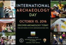 International Archaeology Day 2016