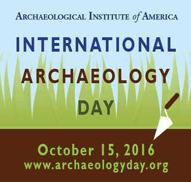 International Archaeology Day Logo 2016