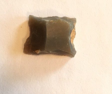 Broken Projectile Point from Mississippi Prehistoric Site