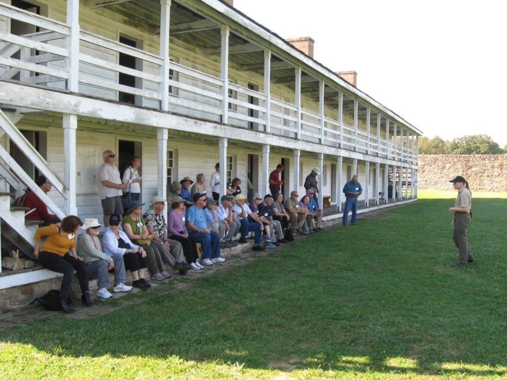 Fort Frederick, located in Big Pool, MD.