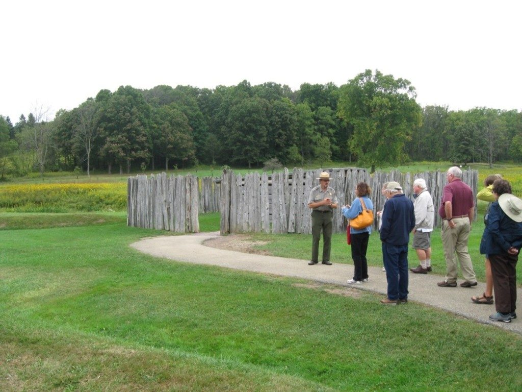 A National Park Service Ranger explains the events that sparked the French and Indian War and George Washington's hasty defenses at Fort Necessity.