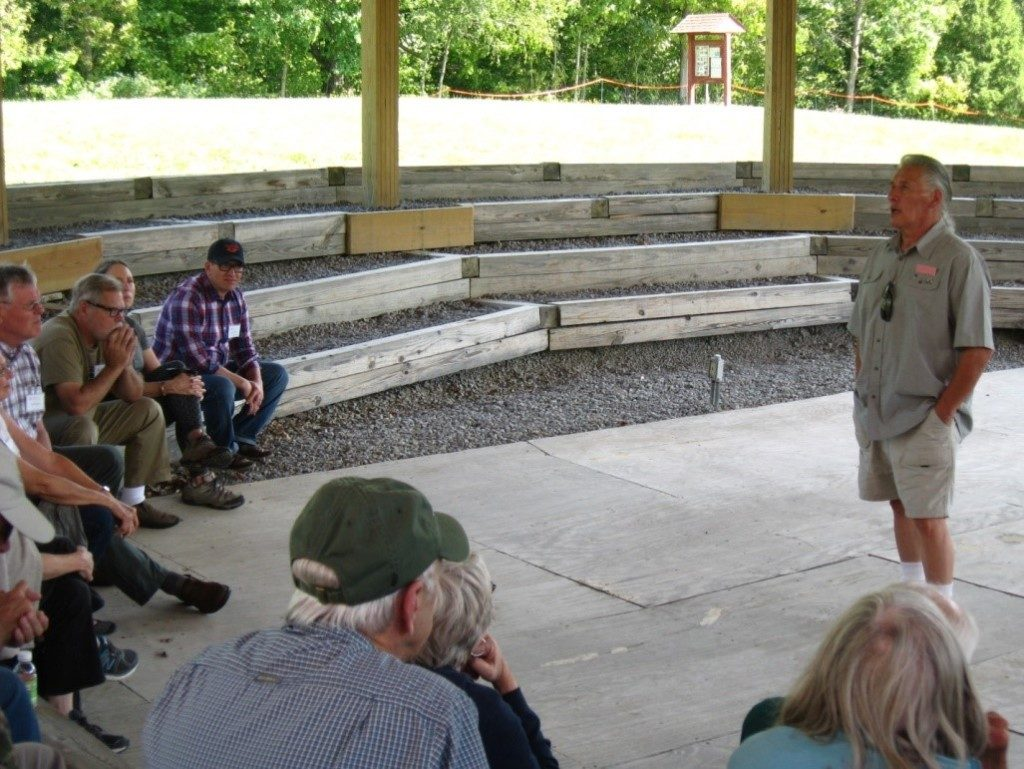 During our visit to the Iroquois Indian Museum Mike Tarbell spoke about his Mohawk ancestry and the important role played by the Iroquois during the French and Indian War.