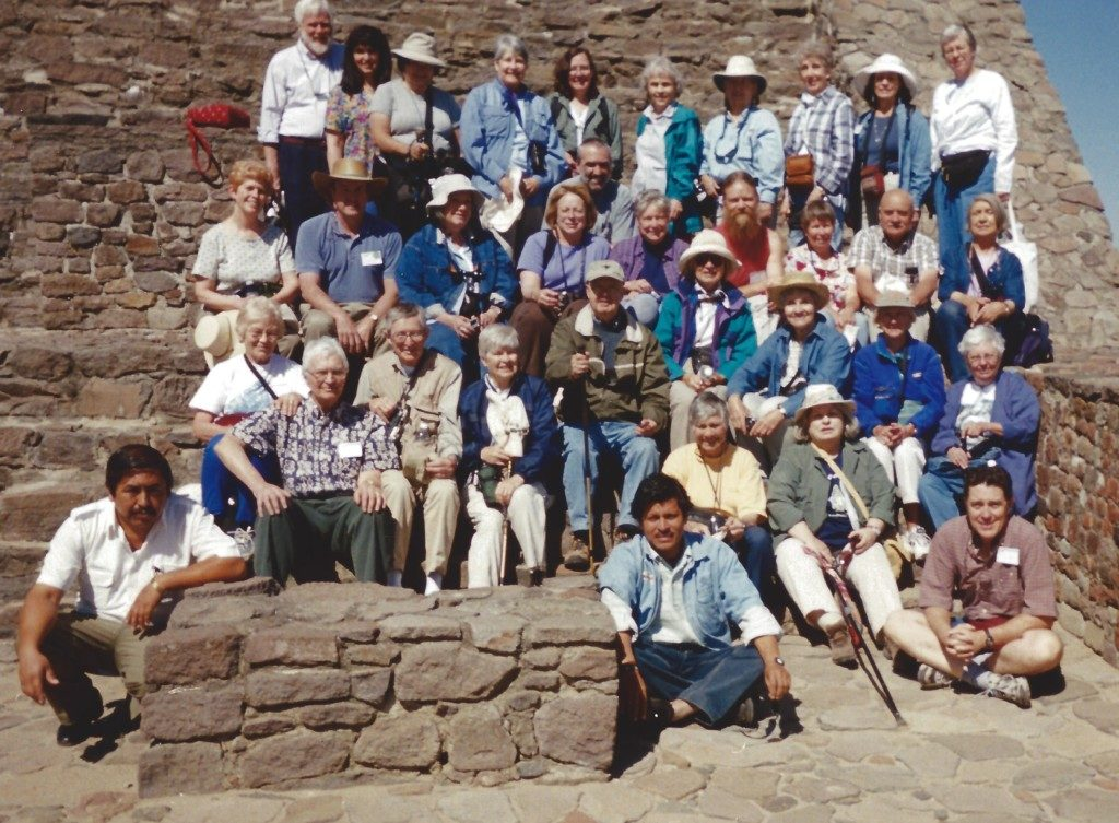 Carol Condie on an Archaeological Adventure Trip with the Archaeological Conservancy Members.