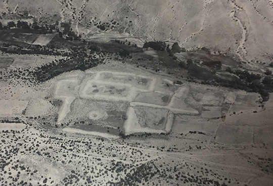 Sapawe (the common spelling of the site today) is a very large site near El Rito, in northern New Mexico. It was occupied from A.D. 1350 to 1550. Credit: Lindbergh Collection, MIAC/Lab MIAC cat#L.5 70.1/257 Sapawe.