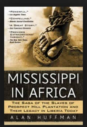 Mississippi in Africa by Alan Huffman. Book Cover.
