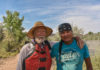 David Noble, The Author, and Head River Guide Marcus Buck on the Conservancy's San Juan River Trip. Photo by Sid Davis.