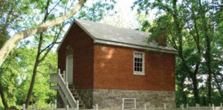 It's thought that the springhouse could have once served as a private fort.