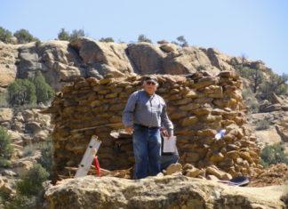 Larry L. Baker at work in 2012. Courtesy Larry L. Baker.