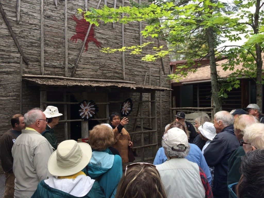 After visiting Quebec City we headed north to the Wendake Reserve where we visited Chetek8e, an interpretive center that teaches visitors about traditional Huron-Wendat life.