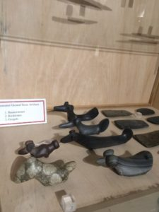These beautiful bird stones are part of the collection owned by the Museum of Ontario Archaeology.