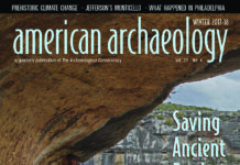 American Archaeology Magazine winter 2017 is Here!